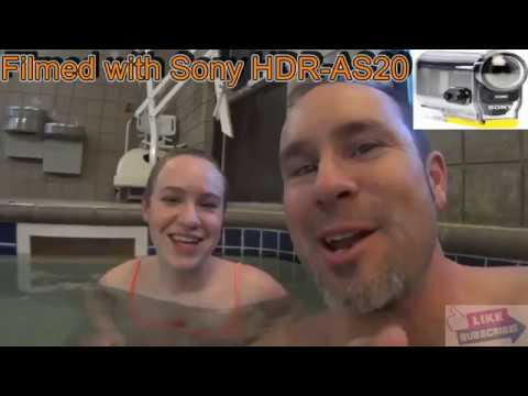 Testing my Sony HDR-AS20 Actioncam underwater