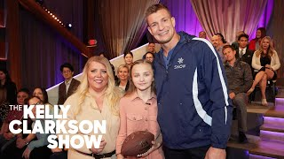 Rob 'Gronk' Gronkowski Surprises A Bullied Female Football Player With A Life-Changing Opportunity