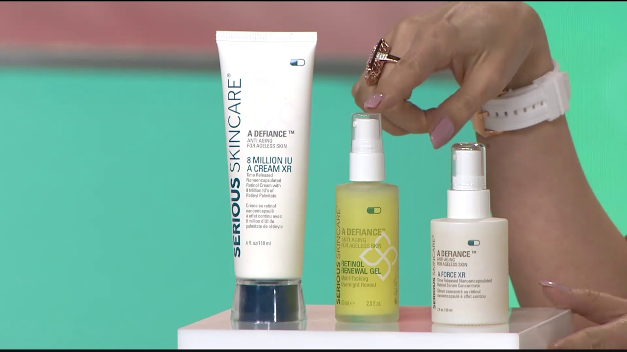315 189 Serious Skincare A Defiance Double Up Age Defy Retinol Trio Youtube