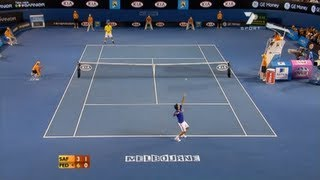 Roger Federer vs Marat Safin - Australian Open 2009 [HQ]