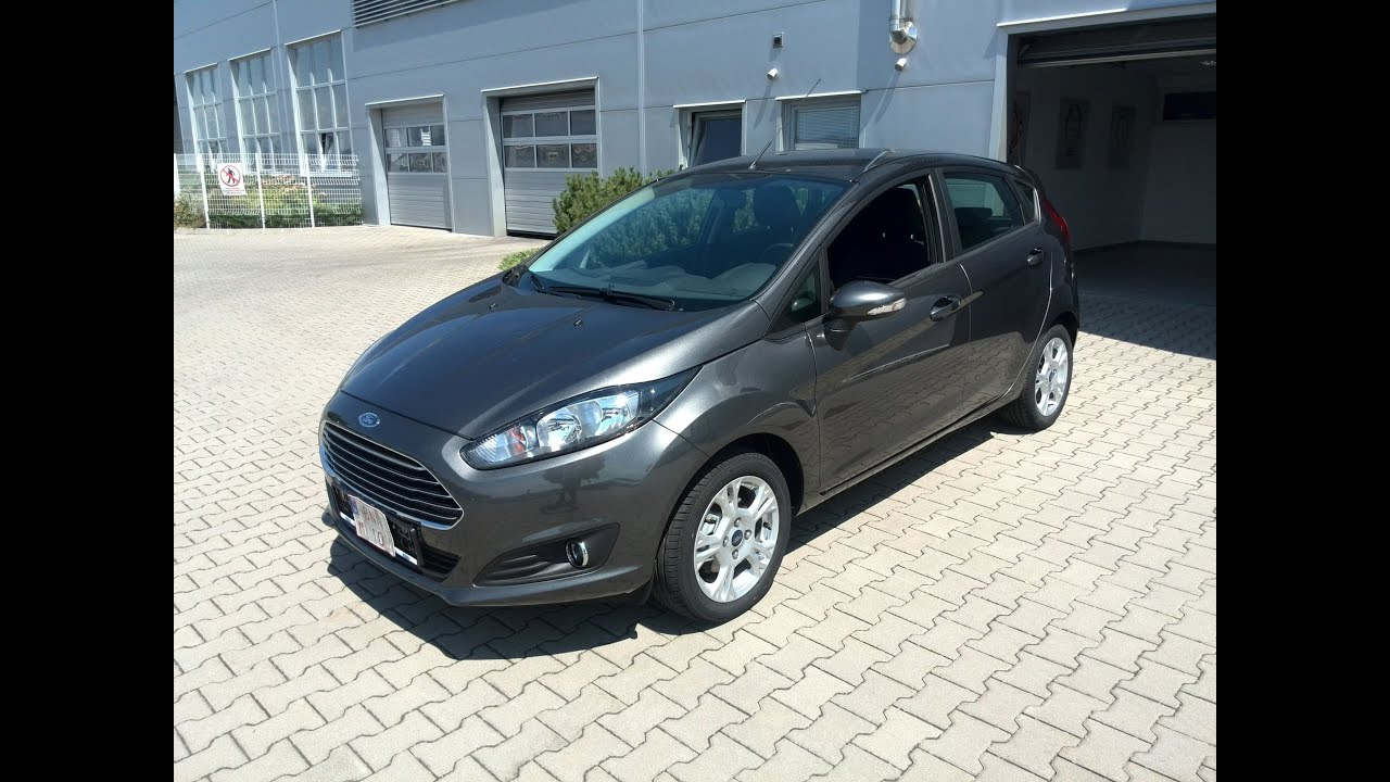 Ford Fiesta Magnetic Ford Fiesta Trend 1 Ecoboost Magnetic Youtube