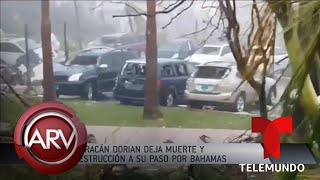 Huracán Dorian deja graves destrucciones en las Bahamas | Al Rojo Vivo | Telemundo
