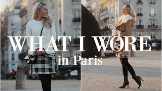 WHAT I WORE IN PARIS   |  Outfit Diary   |   Fashion Mumblr