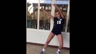 White Girl Kills it Again Juju On Dat Beat Dance | TZ Anthem