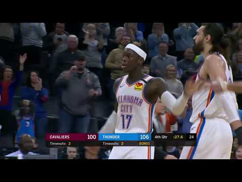 Oklahoma City Thunder vs Cleveland Cavaliers | February 5, 2020