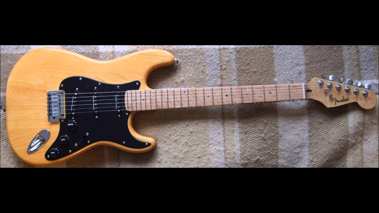 fender lite ash stratocaster clean 2 youtube. Black Bedroom Furniture Sets. Home Design Ideas