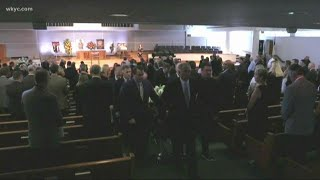 Funeral held for Cleveland Cavaliers play-by-play announcer Fred McLeod
