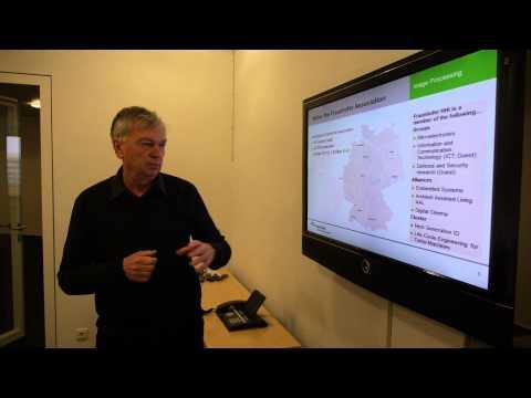 Fraunhofer Heinrich Hertz Institute presentation overview