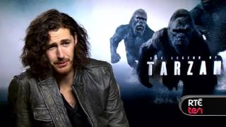 Hozier talks Tarzan and second album plans