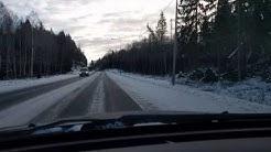 Kiinteä nopeuskamera ja kamera-auto peräkkäin 24.2.2017
