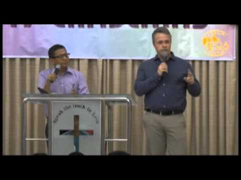 Pastors Mats preaching @ Full Gospel Assembly, Myanmar, Dec 06, 2015