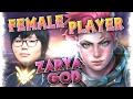 "17 Year Old Korean Female Player ""Geguri"" Zarya Master Moments Montage [79% Win Rate QP ]| Overwatch"