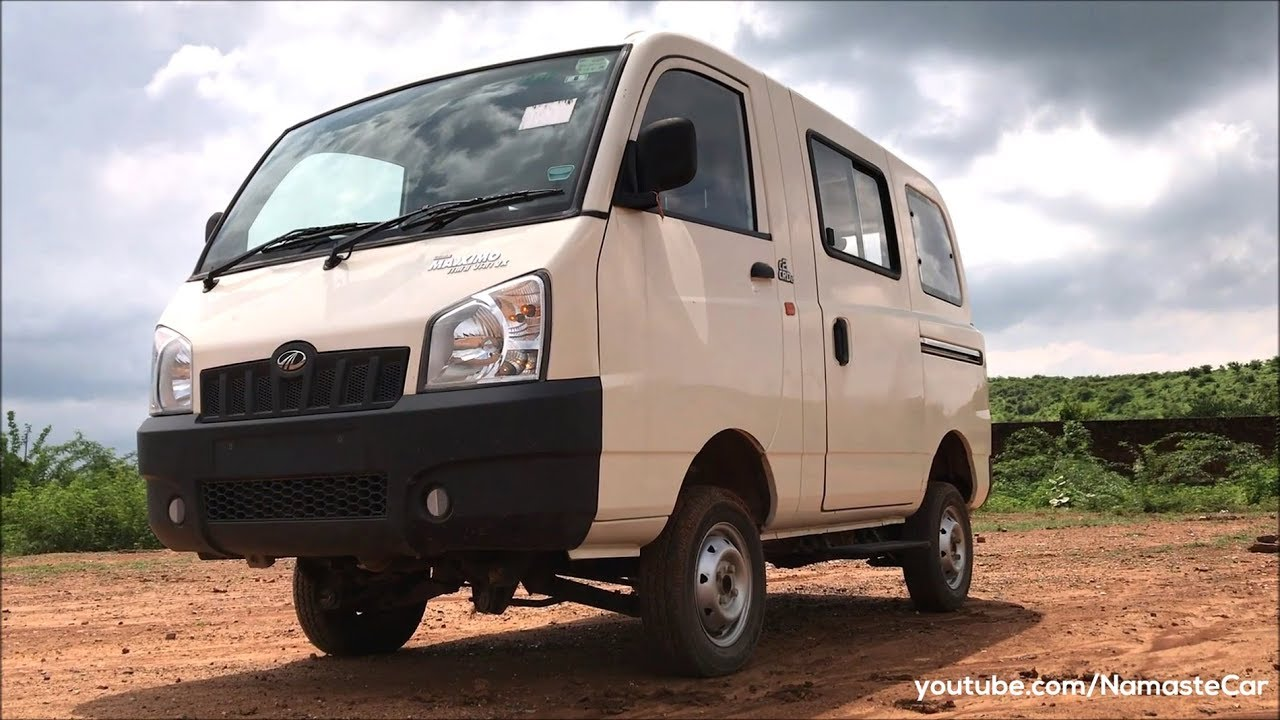 Mahindra Maxximo Mini Van Vx C2 Crde 2018 Real Life Review Youtube