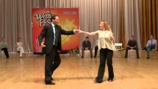 Jnj Advanced / All-stars Finals — Gary & Olga. Moscow Westie Fest 2013