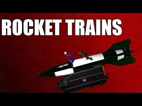 GMOD: Rocket Trains!