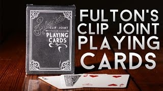 Deck Review - Fulton's Clip Joint Playing Cards D&D