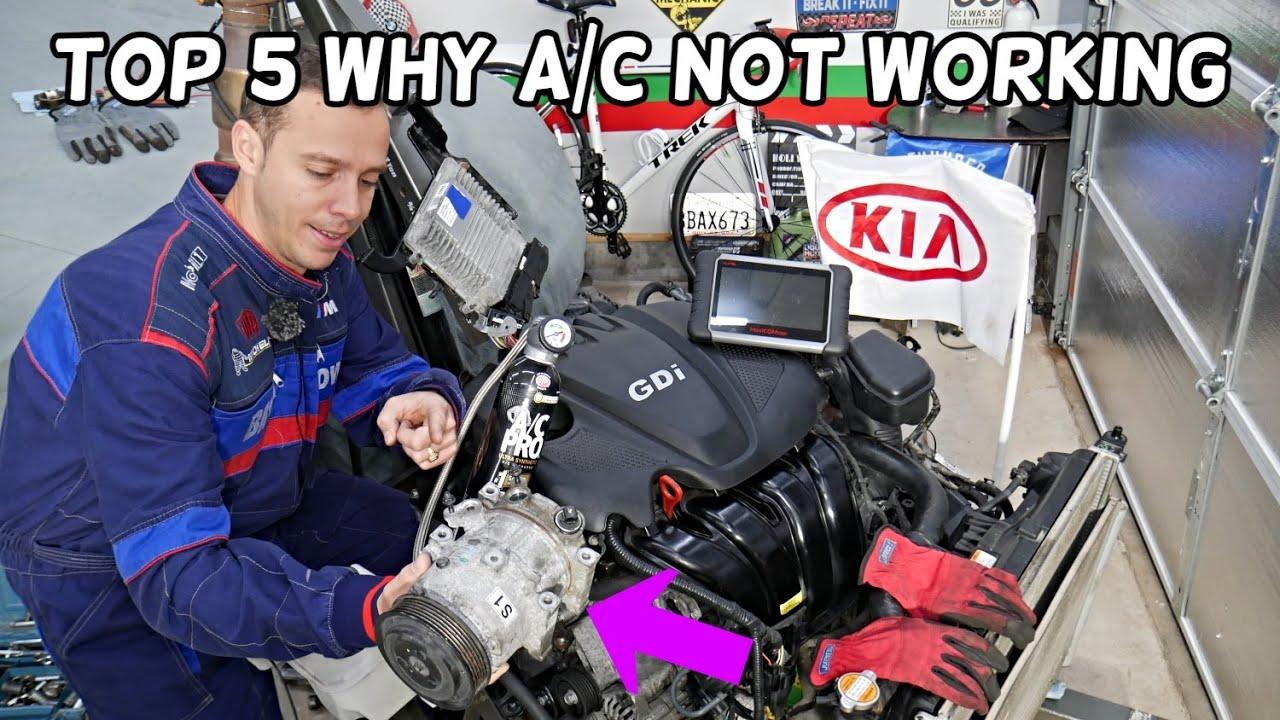 TOP 5 WHY AC NOT WORKING ON KIA SPORTAGE, KIA SORENTO