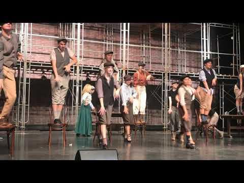 """Newsies!"" performance by Zionsville Community High School"