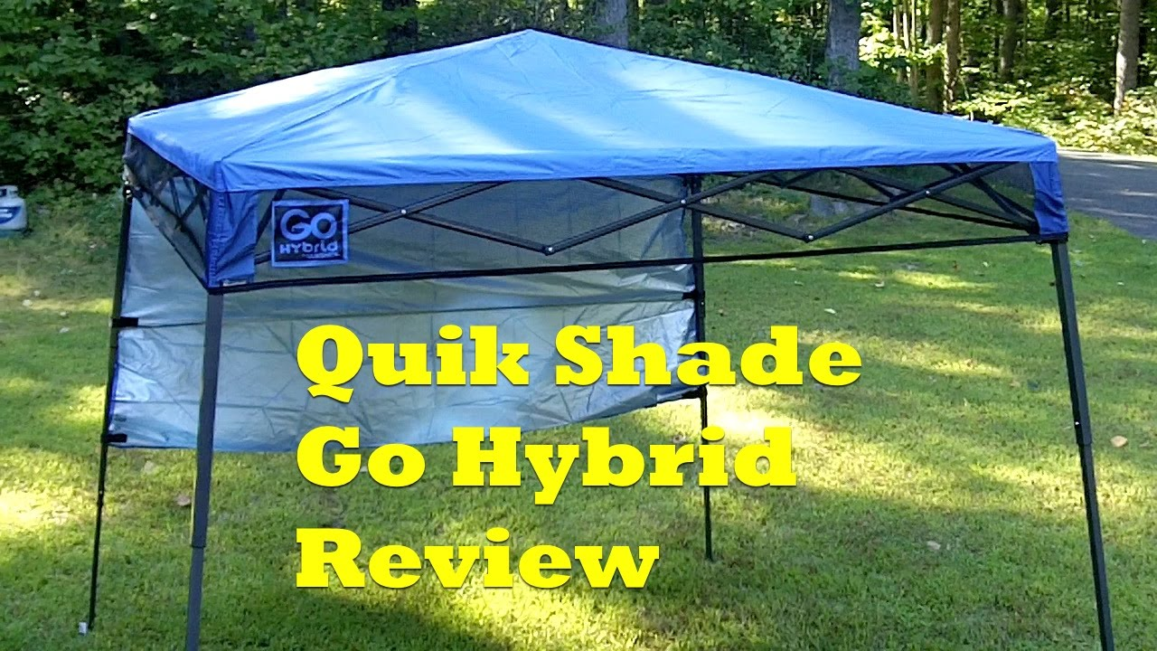 Review Quik Shade Go Hybrid Backpack Canopy Shade When You Need It Youtube