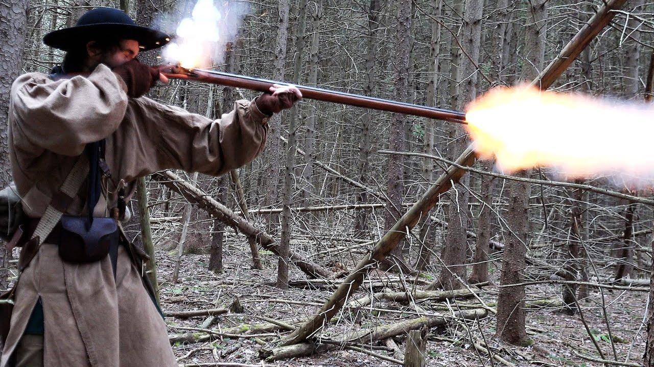 Traditional Longrifle Flintlock Muzzleloader Deer Hunting - 2017