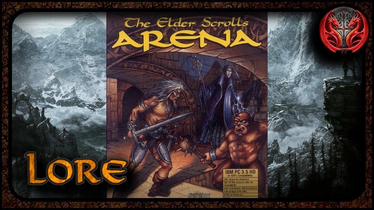 Elder Scrolls Zusammengefasst #1 Elder Scrolls I: Arena