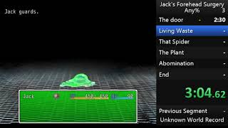 [WR] Jack's Forehead Surgery (6:38.22)