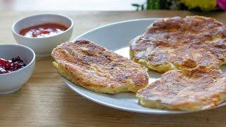 Pancakes z makaronem i serem