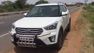 hyundai creta top speed ... km
