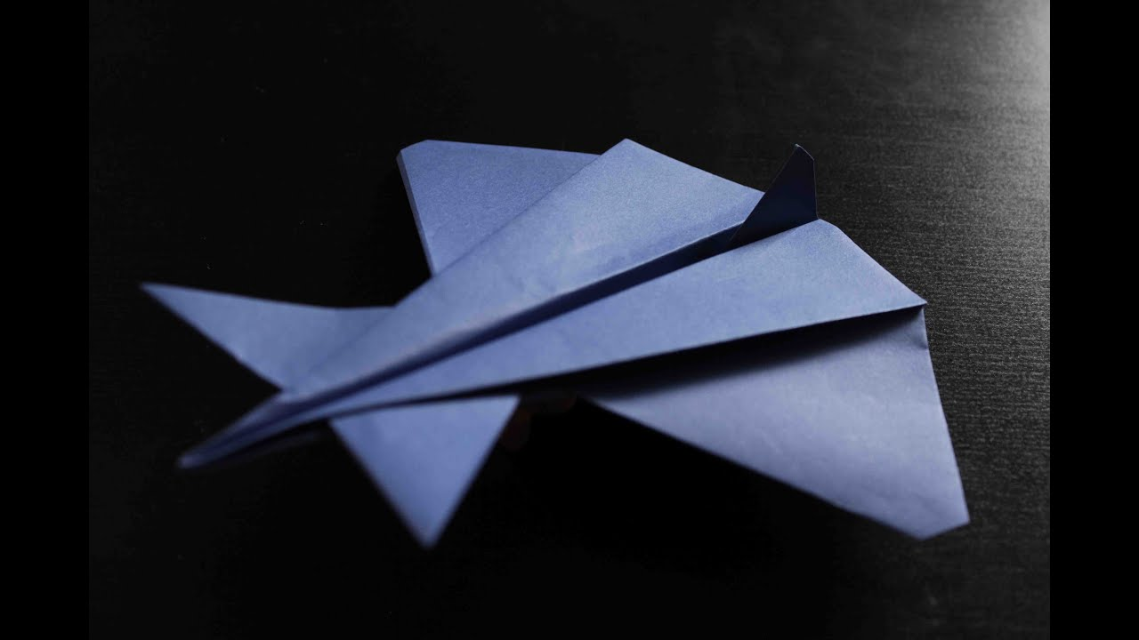 how to make a cool paper plane origami instruction alien