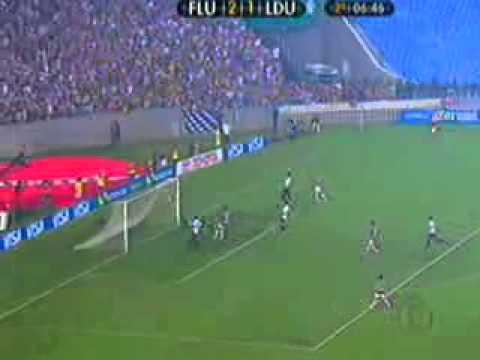 Fluminense 3 x 1 LDU  Final libertadores 2008(Não inclui a prorrogação e os penalts)
