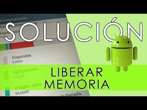 Liberar espacio de memoria en android SIN APLICACIONES