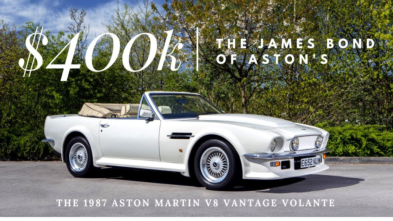 The 400 000 1987 Aston V8 Vantage Volante Monterey Car Week Youtube