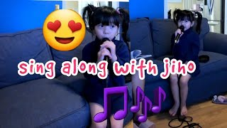 Sing along with jiho