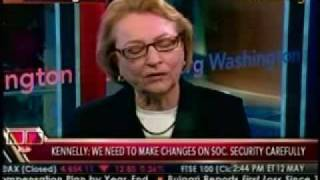 barbara b kennelly on social security and medicare trust