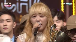 no 1 encore 161130 구구단 세정 gugudan sejeong 꽃길 flower way show champion