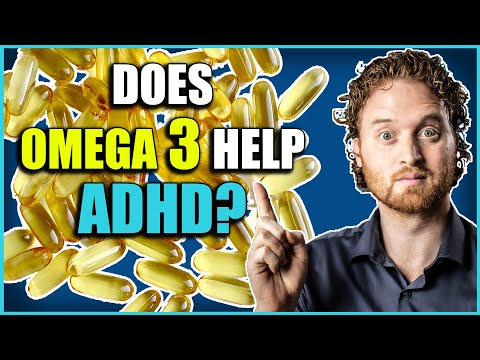 Omega 3 Fish Oil: How Fish Oil Helps With ADHD!