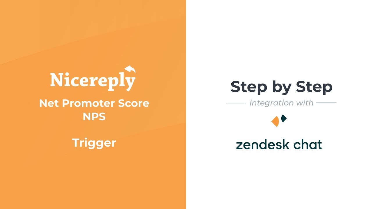 Setting up Nicereply NPS trigger in Zendesk Chat