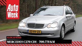 Mercedes C270 CDI – 2002 – 709.778 km - Klokje Rond