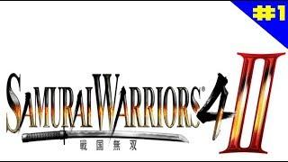 Samurai Warriors 4 - II - Gameplay Cooperativo Parte 1 (STEAM-1080P a 60FPS)