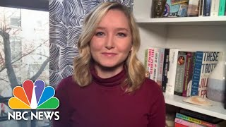 NBC's Dasha Burns Shares What It's Like Having Coronavirus Under 30 | NBC News NOW