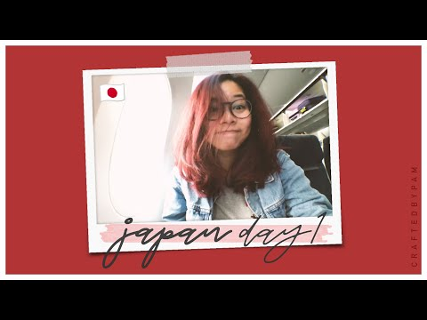 Traveling From Manila to Tokyo + Hotel Room Tour! ・ Japan Travel Vlog Day 1 #craftedbypam