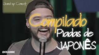 PIADAS DE JAPONÊS + PIADAS DO MEU PAI - COMPILADO STAND UP COMEDY - ÁTILA SHINHE