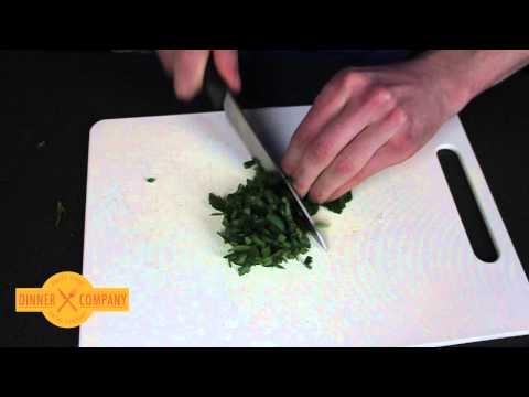 Chopping Leafy Herbs (e.g. Parsley)