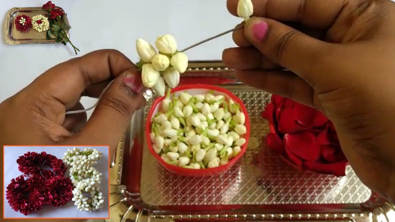 how to make jasmine garland