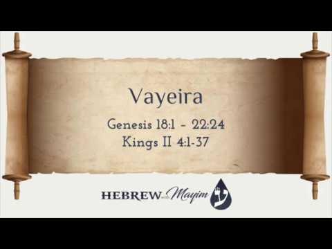 04 Vayeira, Aliyah 3 - Learn Biblical Hebrew