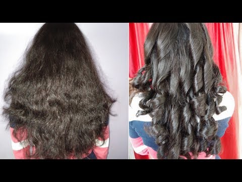 HOW TO CURL YOUR HAIR WITH CURLING IRON || AT HOME || IN HINDI || FOR beginners