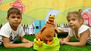 Türkçe izle - kız erkek çocuk oyunları/videoları.Tavukla sürpriz oyuncak -Sürpriz yumurta 2