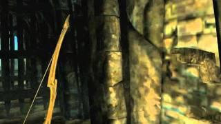 Skyrim Квест Добыть рог Юргена. Как пройти камни.(Как пройти камни, открывающие решетку в Устенгреве? Для этого используем силу крика (рывок), которую нам..., 2011-11-27T16:38:33.000Z)