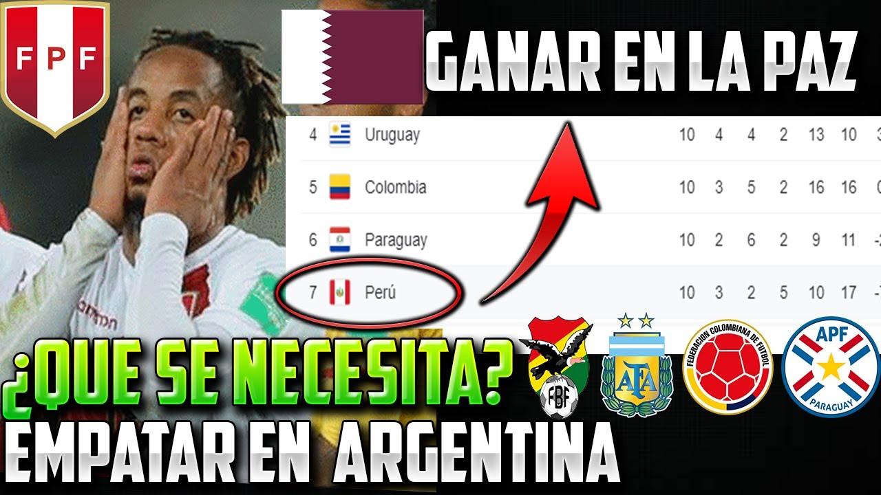 Download ¿QUÉ NECESITA PERÚ PARA CLASIFICAR AL MUNDIAL?  26 PUNTOS NECESARIOS | PREVIA PERÚ VS ARGENTINA 🔥
