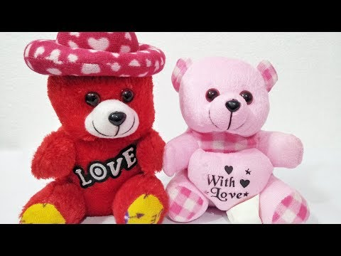 Teddy Bear Baby Dolls Playing With Toys Balloons Funny Dance Performance. Baby Doll Teddy Bear Play